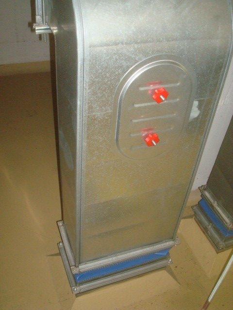Portine di ispezione dei canali dell'aria